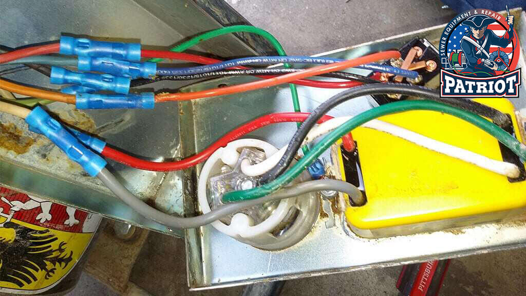 Drain Machine Electrical Repairs