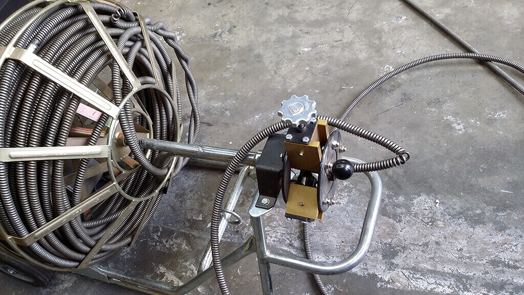 Kinked and Twisted Drain Cables - Drain Machine Service & Repair