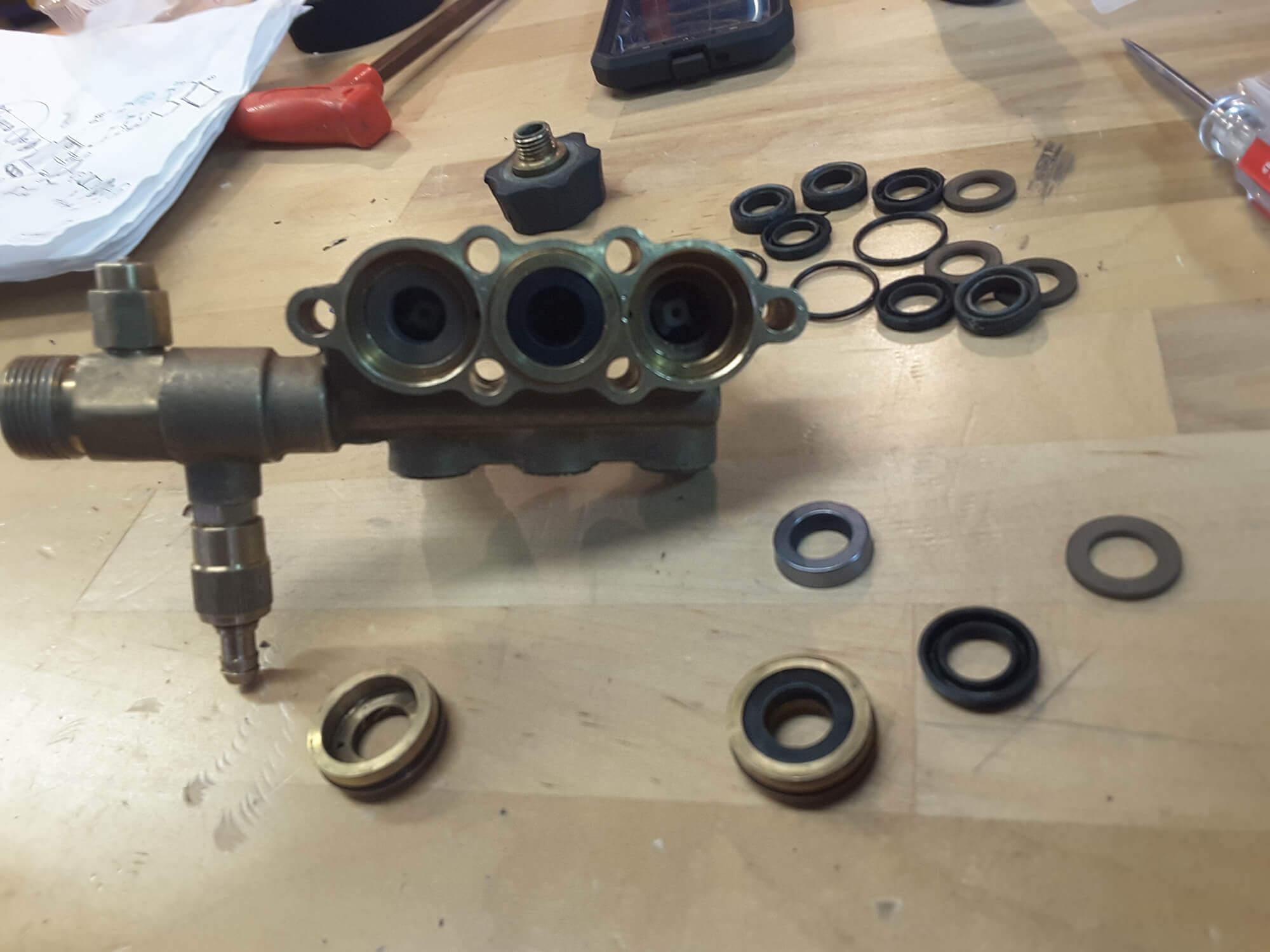 Pressure Washer Pump Rebuild - Pressure Washer Service & Repair