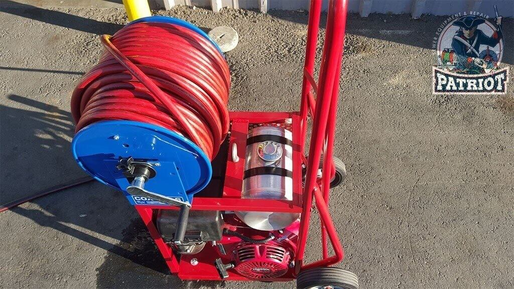Pressure Washer to Jetter Conversion After 1024x576 - Hydro Jetter Restoration