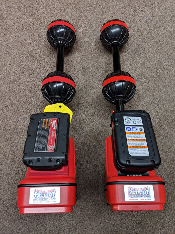 Ridgid Scout Battery Addon - Pipe Locator Upgrades