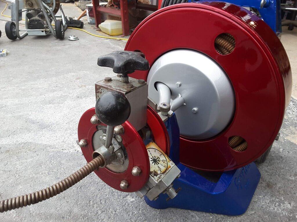 Spartan 300 Restoration After 1 1024x768 - Drain Machine Restoration