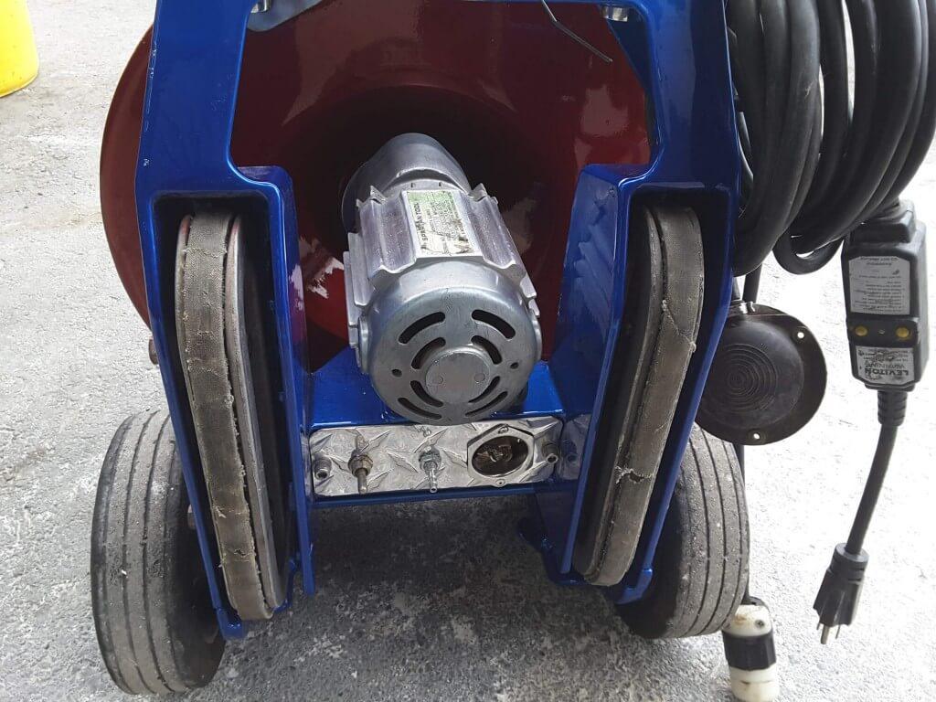 Spartan 300 Restoration After 3 1024x768 - Drain Machine Restoration