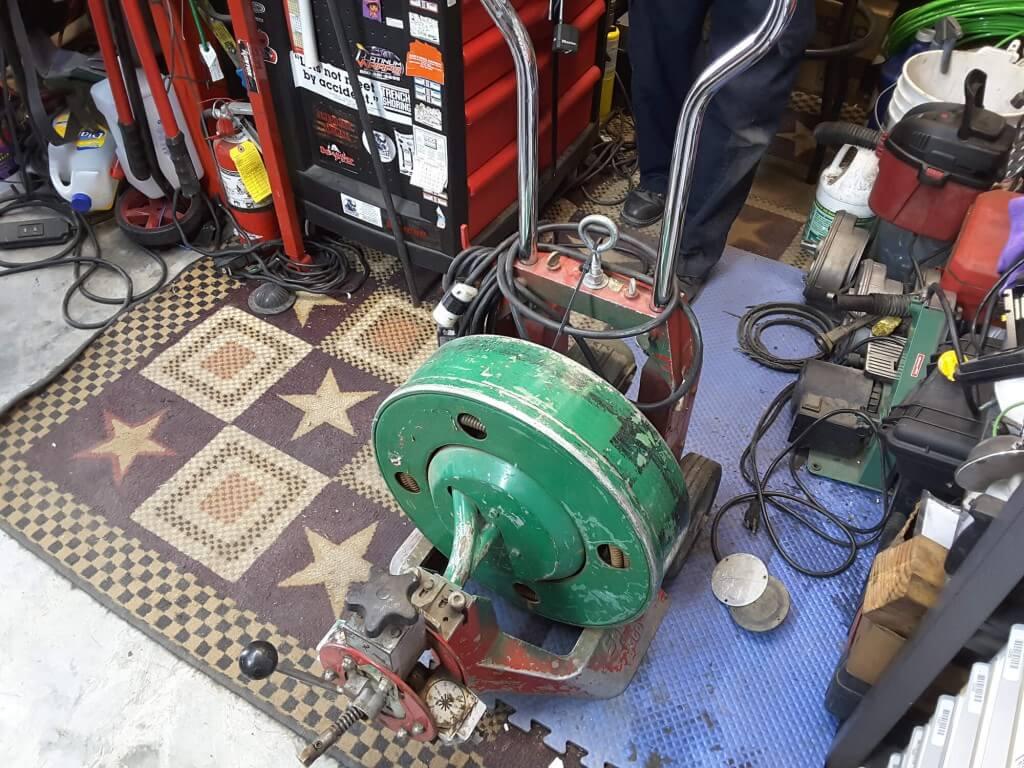 Spartan 300 Restoration Before 1 1024x768 - Drain Machine Restoration