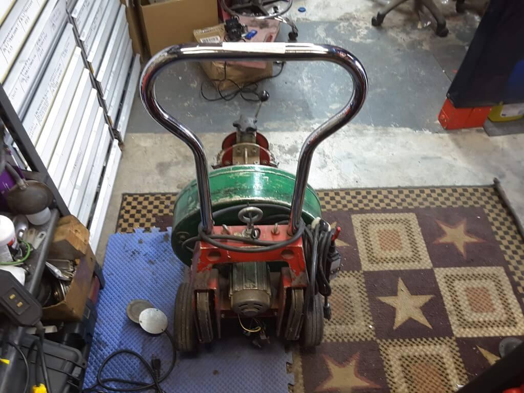 Spartan 300 Restoration Before 3 1024x768 - Drain Machine Restoration