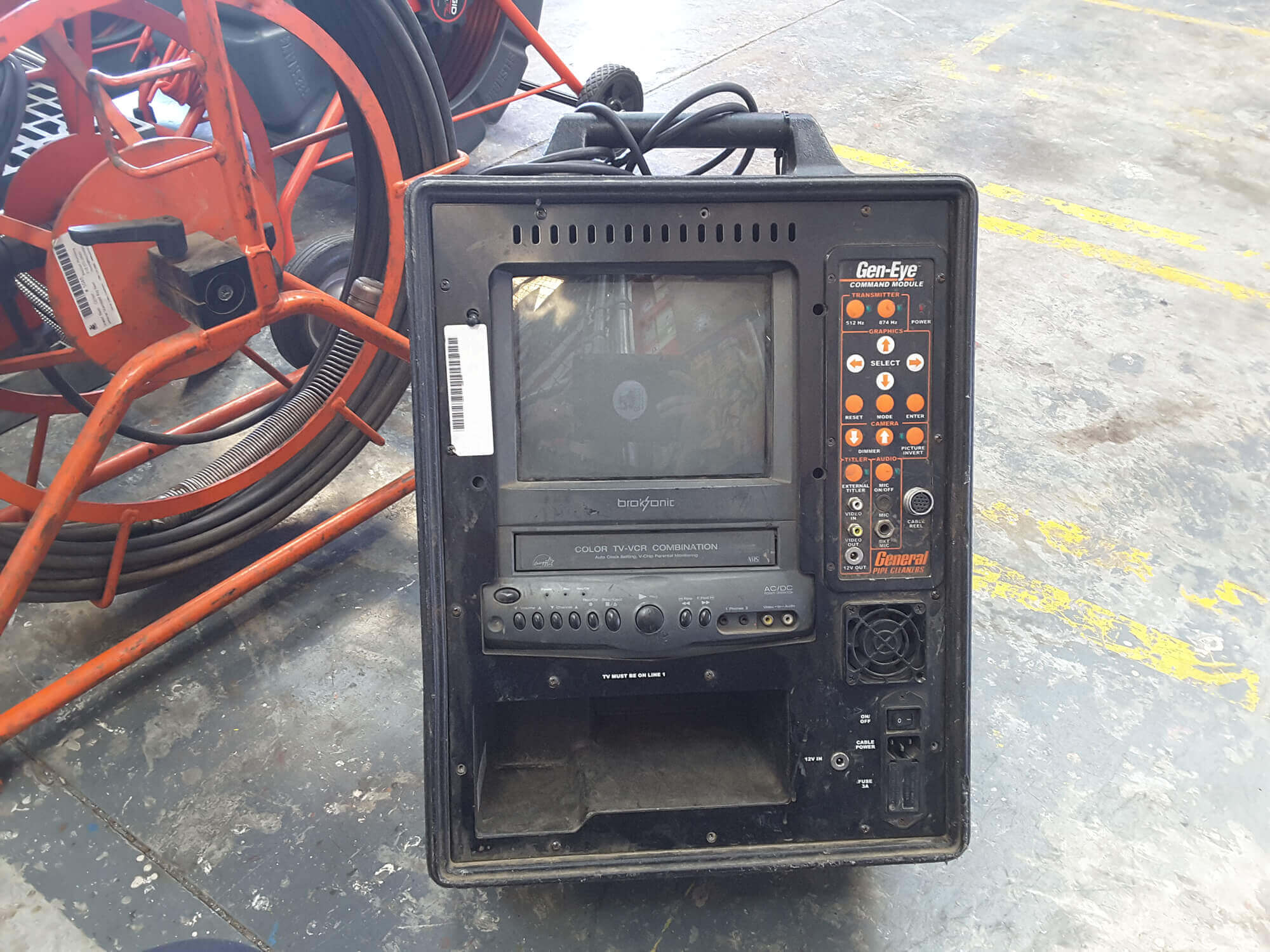 gen eye sewer vcr monitor - Sewer Monitor Service & Repair
